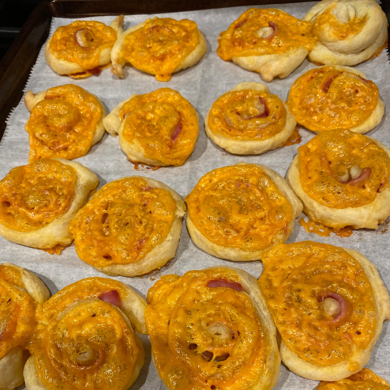 Ham and Cheese Pinwheels Kimberly Fowble Breckon