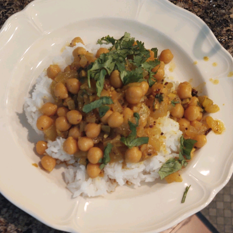 Chickpea Curry Frank