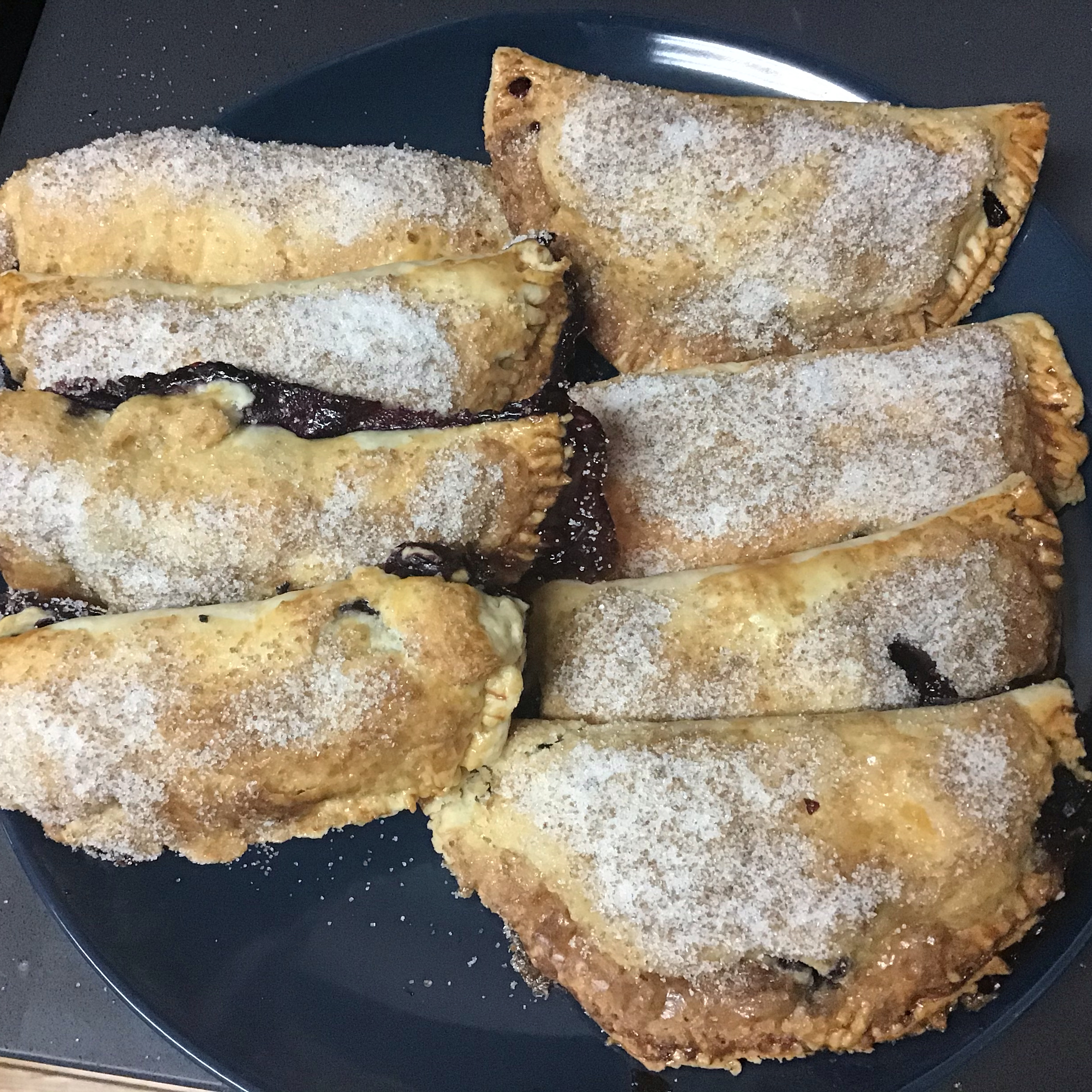 Shelly Hospitality's Blueberry Turnover Hand Pies mcsfree