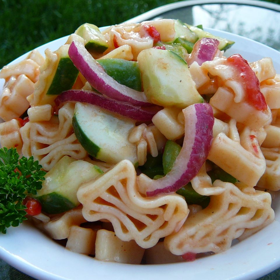 Sweet and Sour Pasta Salad