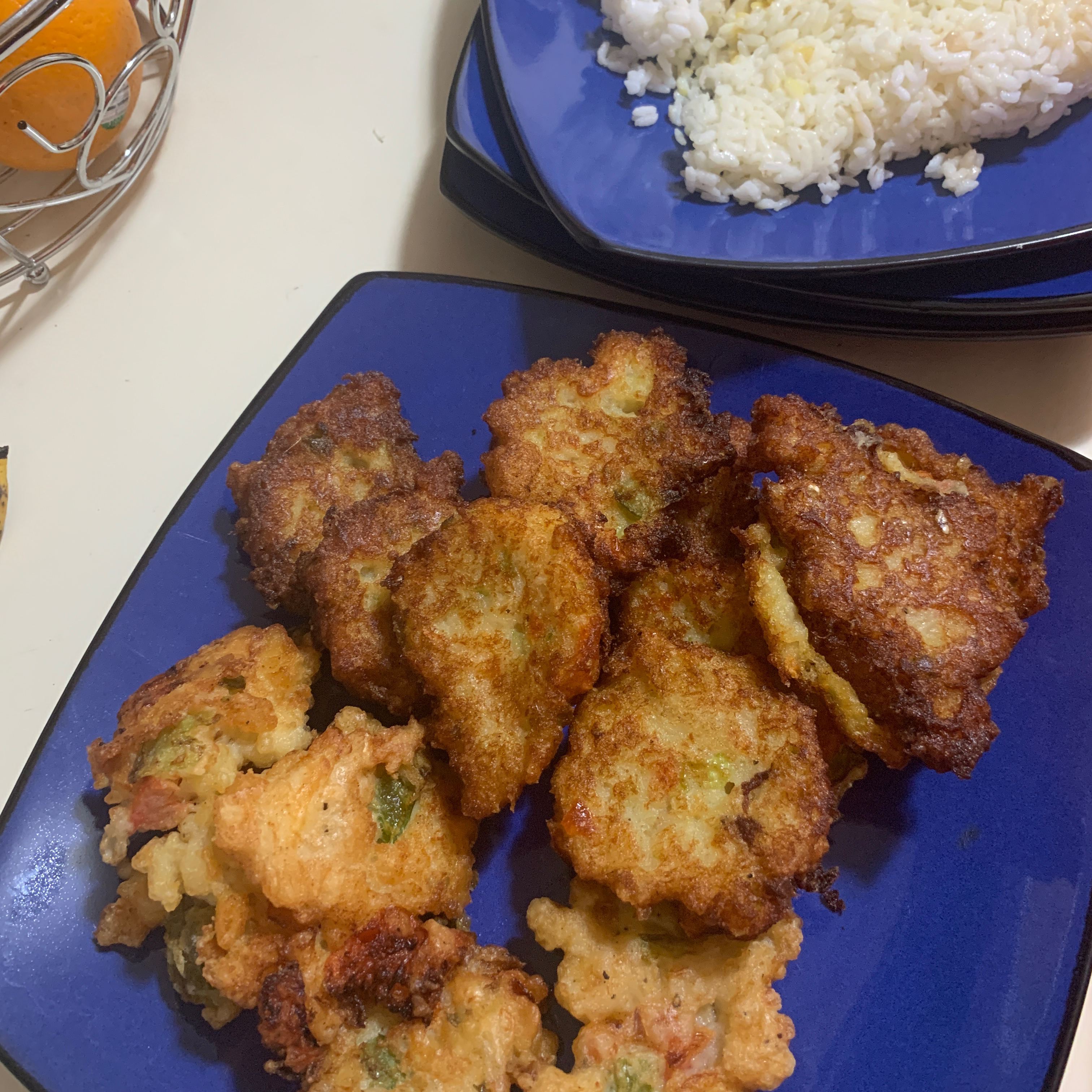 Jamaican Saltfish Fritters (Stamp and Go) Desmond Hasty