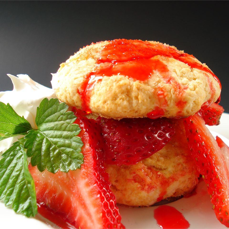 Buttermilk Strawberry Shortcake JimmyandNancy Long