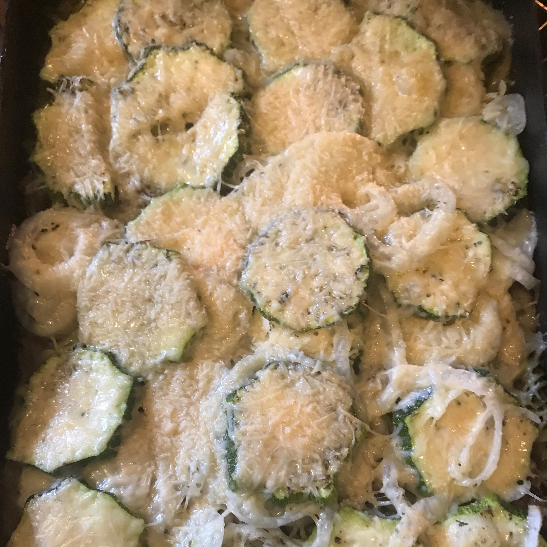 Roasted Zucchini Casserole mjw