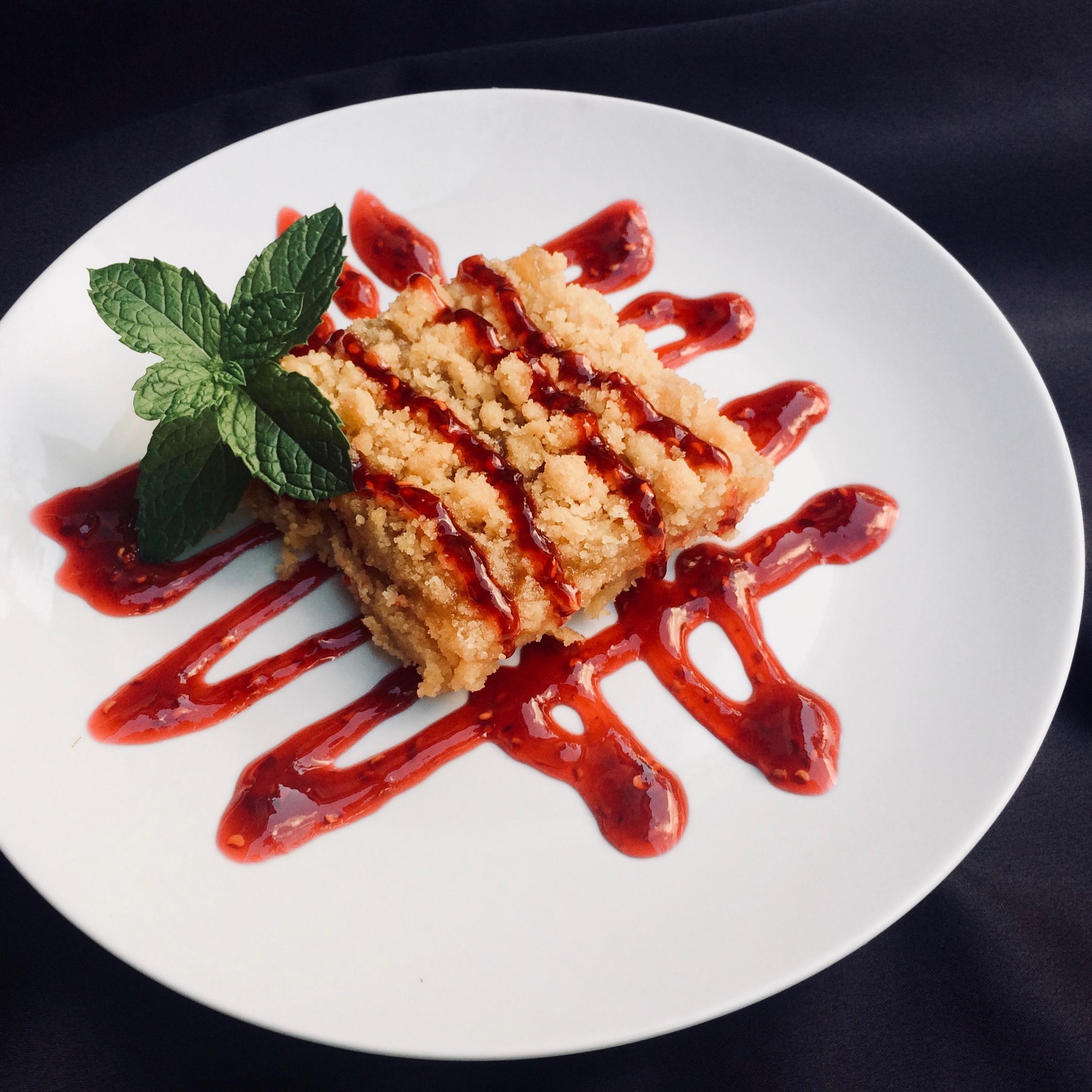 Lemon-Raspberry Crumb Bars