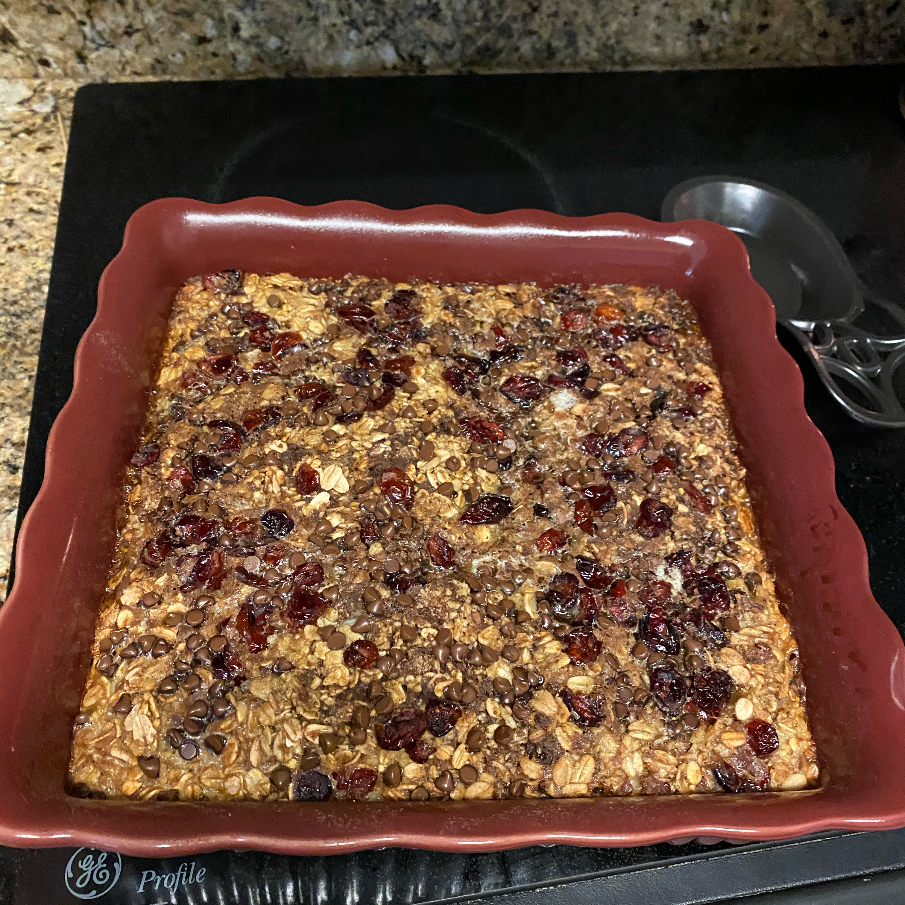 Chocolate Chip Baked Oatmeal Julia Ragain