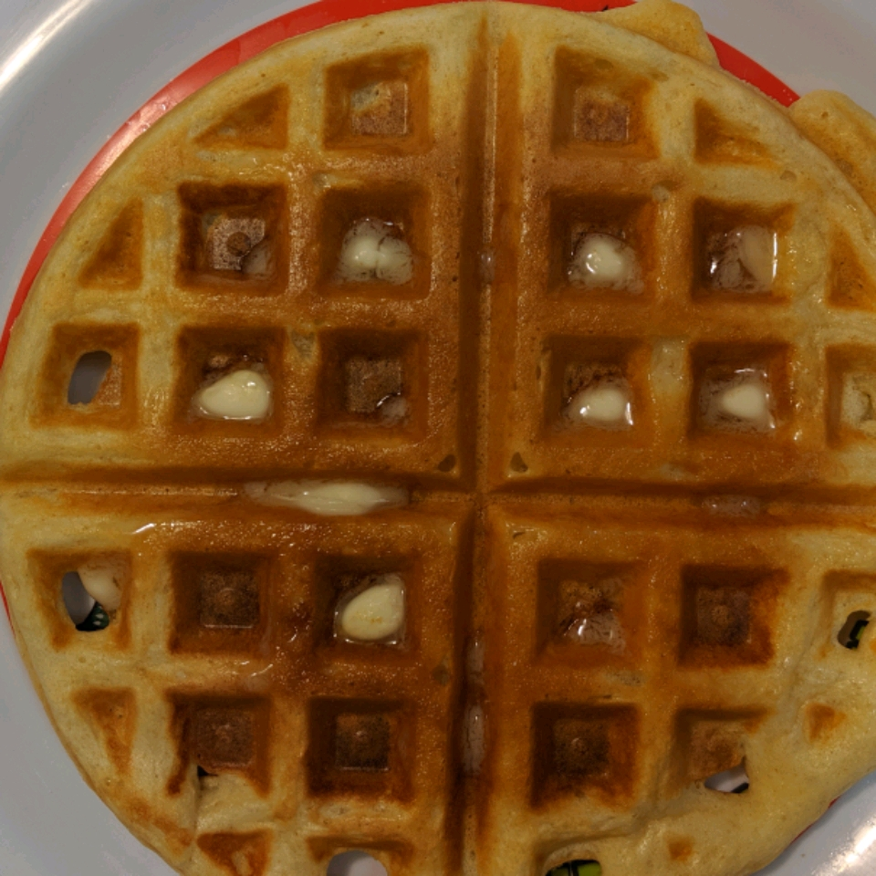 Tender and Easy Buttermilk Waffles Vickie Anderson