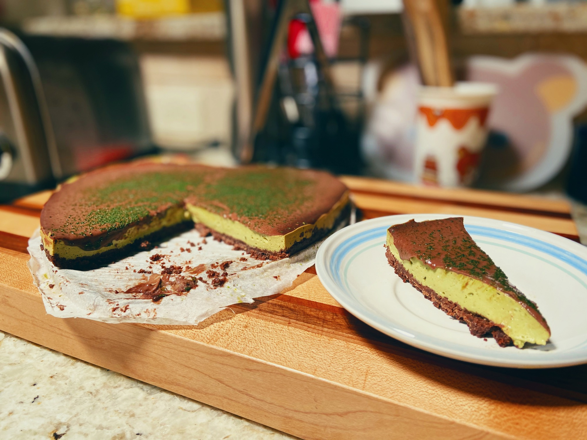 Green Tea Cheesecake kuma