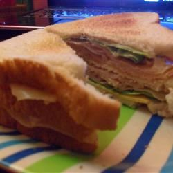 Amy's Triple Decker Turkey Bacon Sandwich