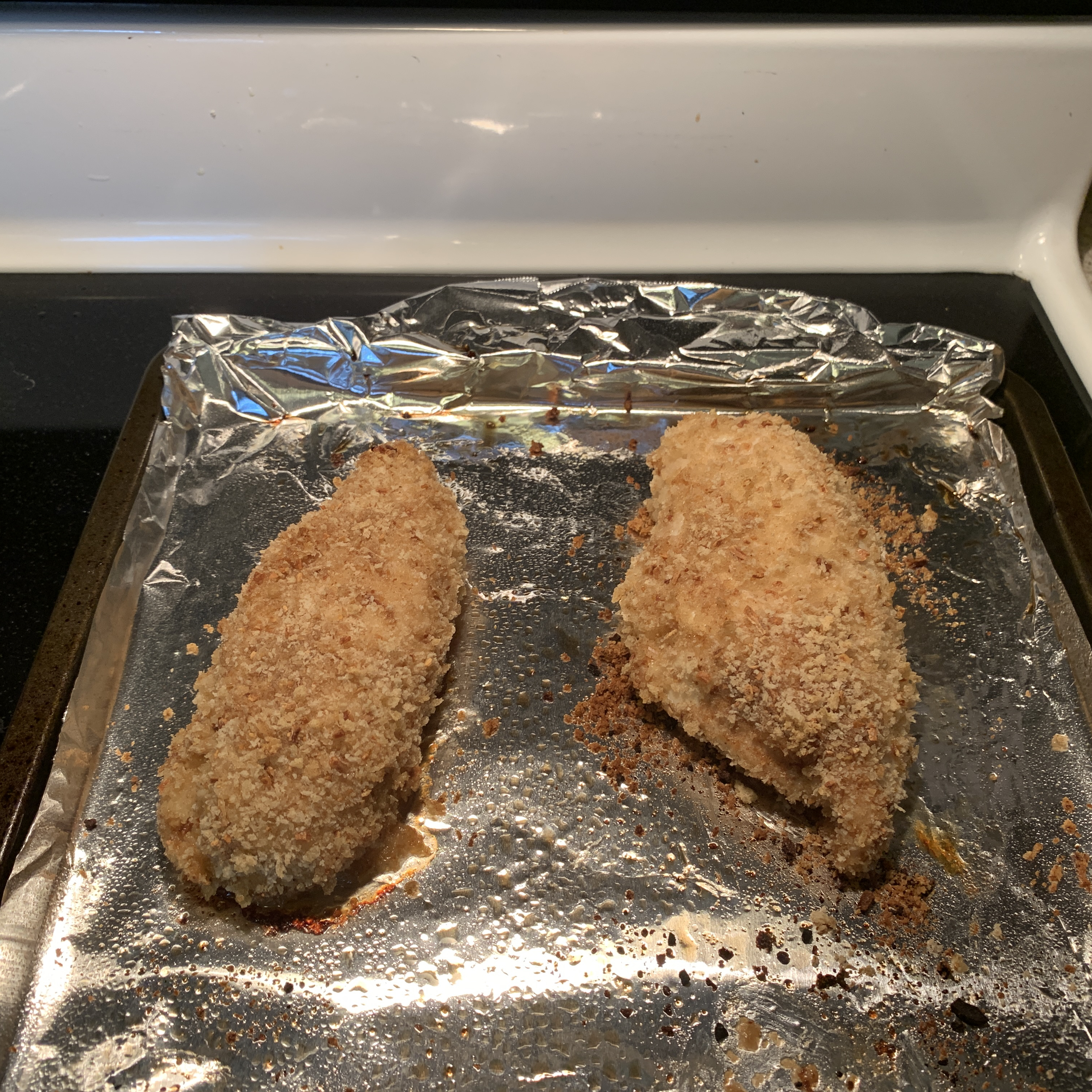 French Onion-Breaded Baked Chicken Angela
