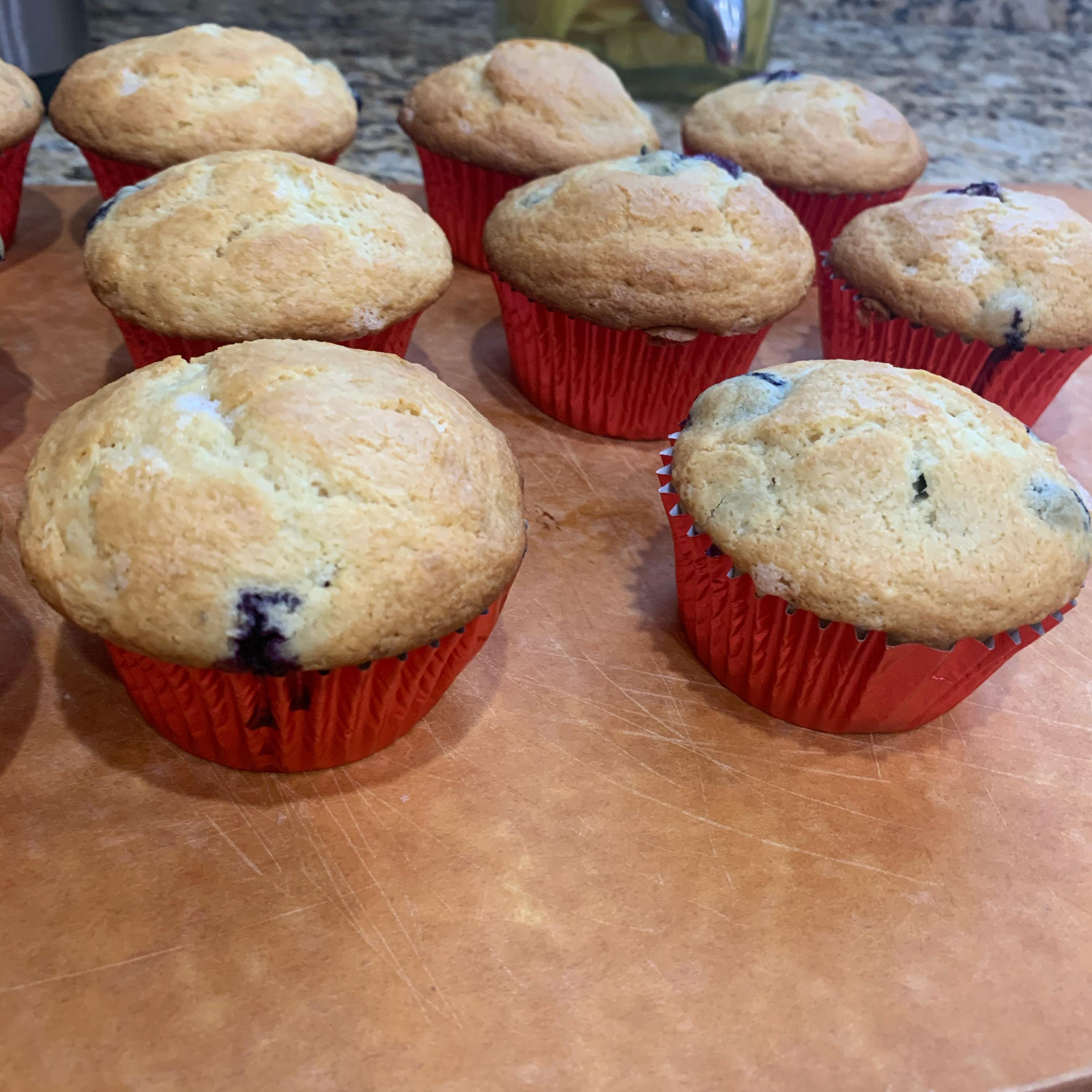 World's Best Lemon Blueberry Muffins Sylvia Hernandez-Caudill