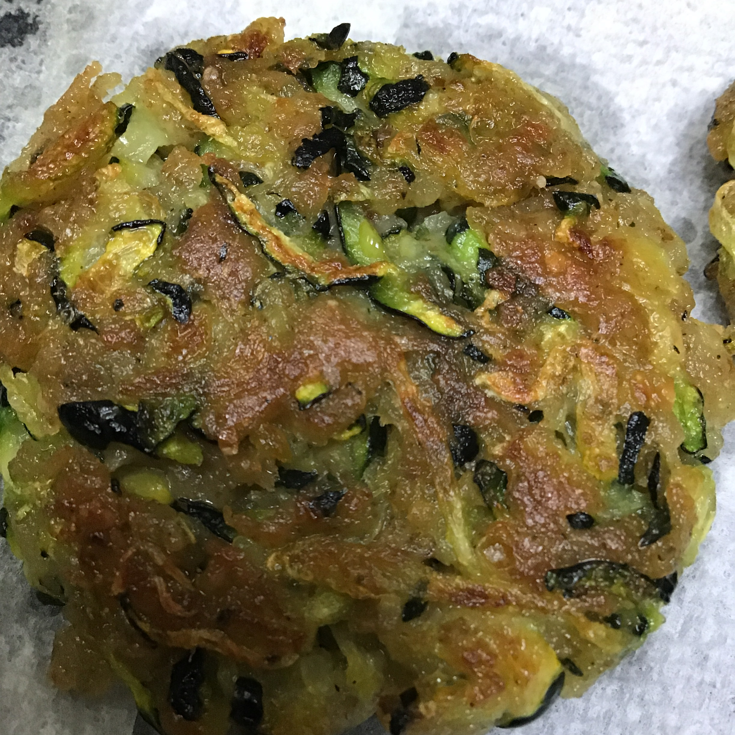 Easy Zucchini Fritters Andrea