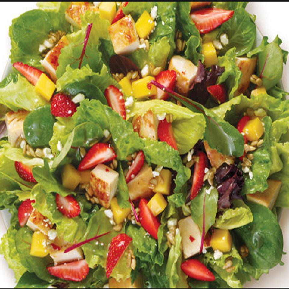 Strawberry-Mango Grilled Chicken Salad Paul Gibson