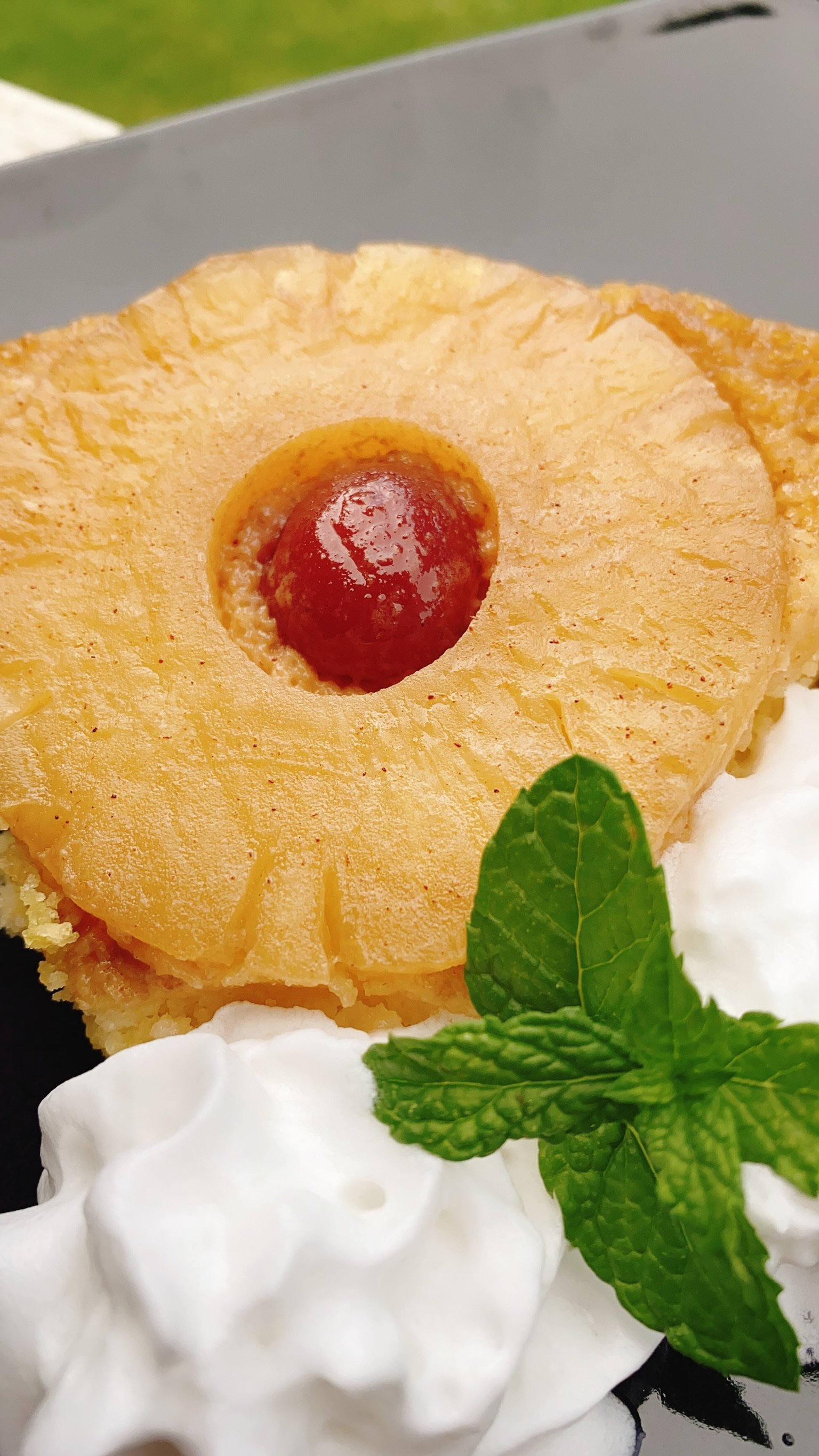 Pineapple Upside-Down Pound Cake thedailygourmet