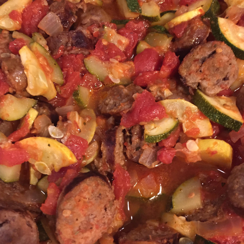 Italian Sausage and Zucchini Andrea NMinTX