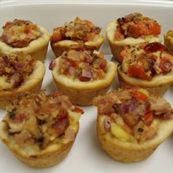 Bacon and Tomato Cups moaa