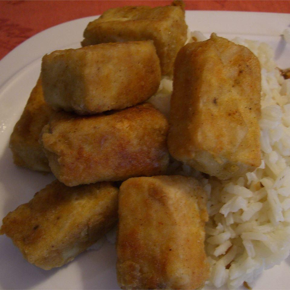 Breaded, Fried, Softly Spiced Tofu Miss Sriri