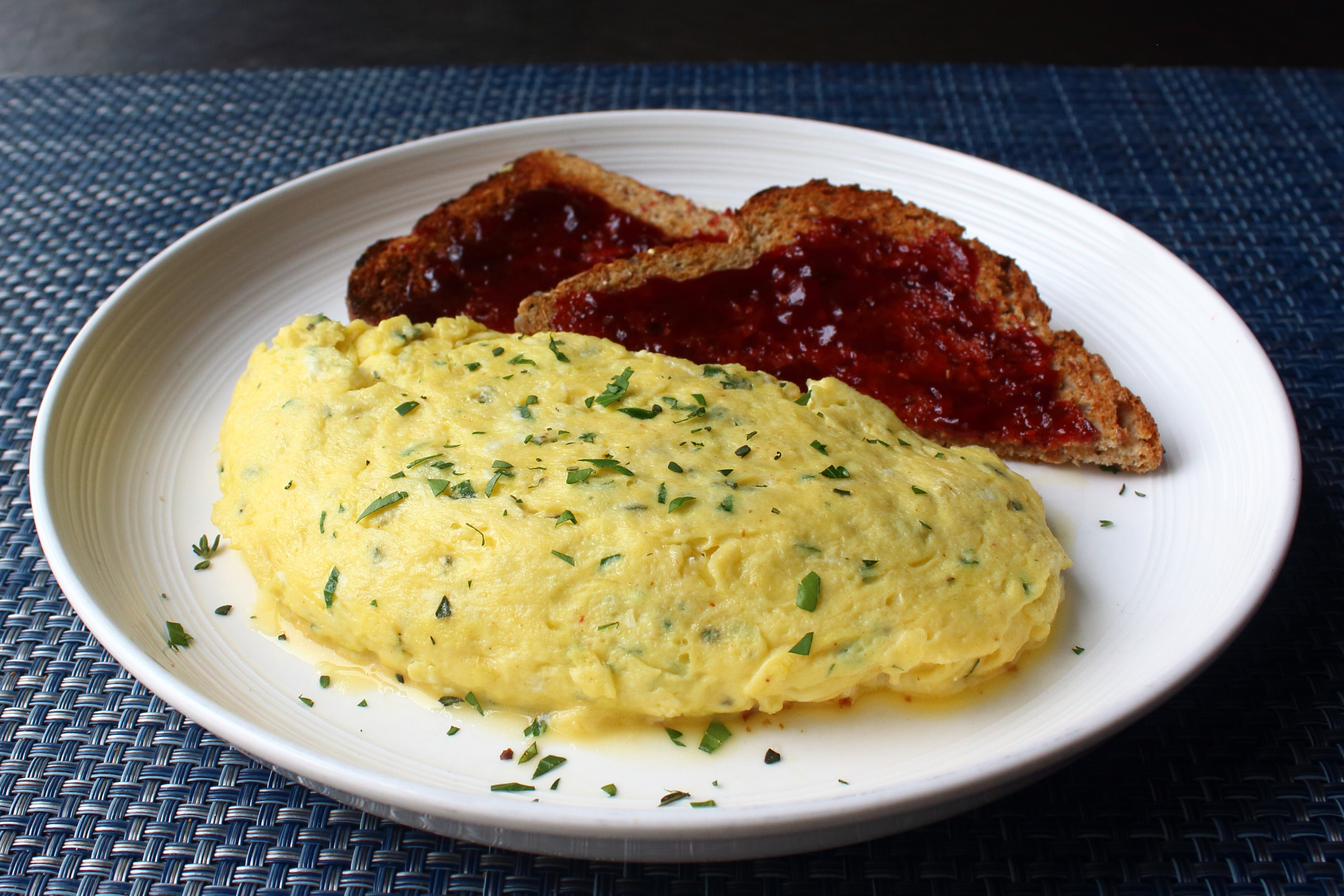 Scrambled Egg Omelet