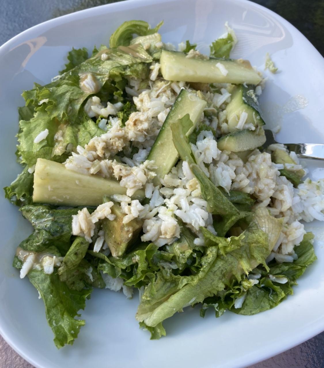 California Roll Salad Amanda Potter