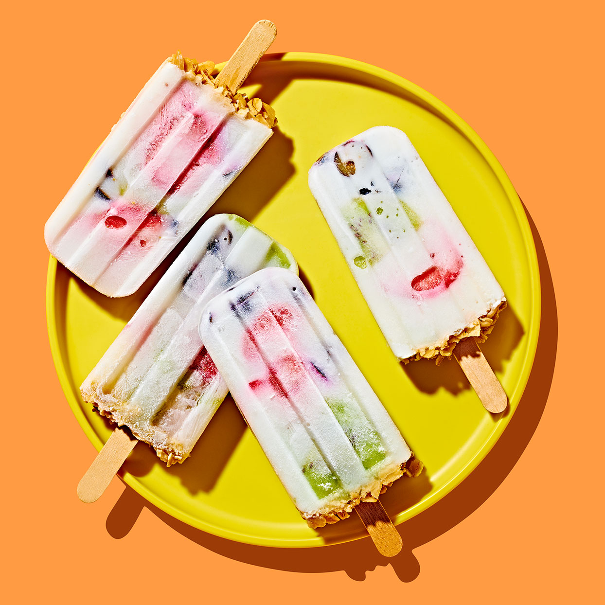 Fruit & Granola Pops Allrecipes Trusted Brands