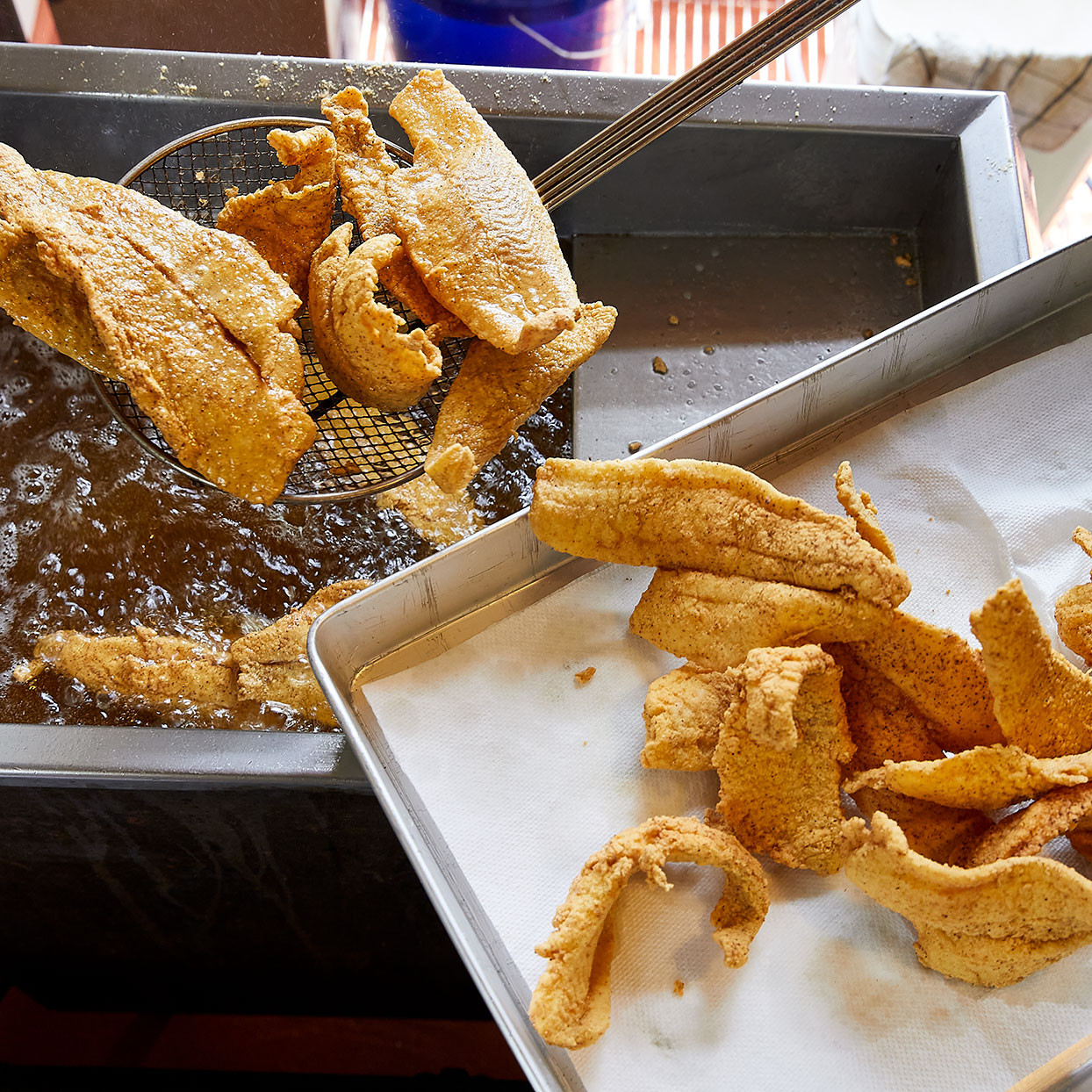 Fried Flounder Trusted Brands