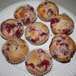 Raspberry Lemon Muffins deereyes