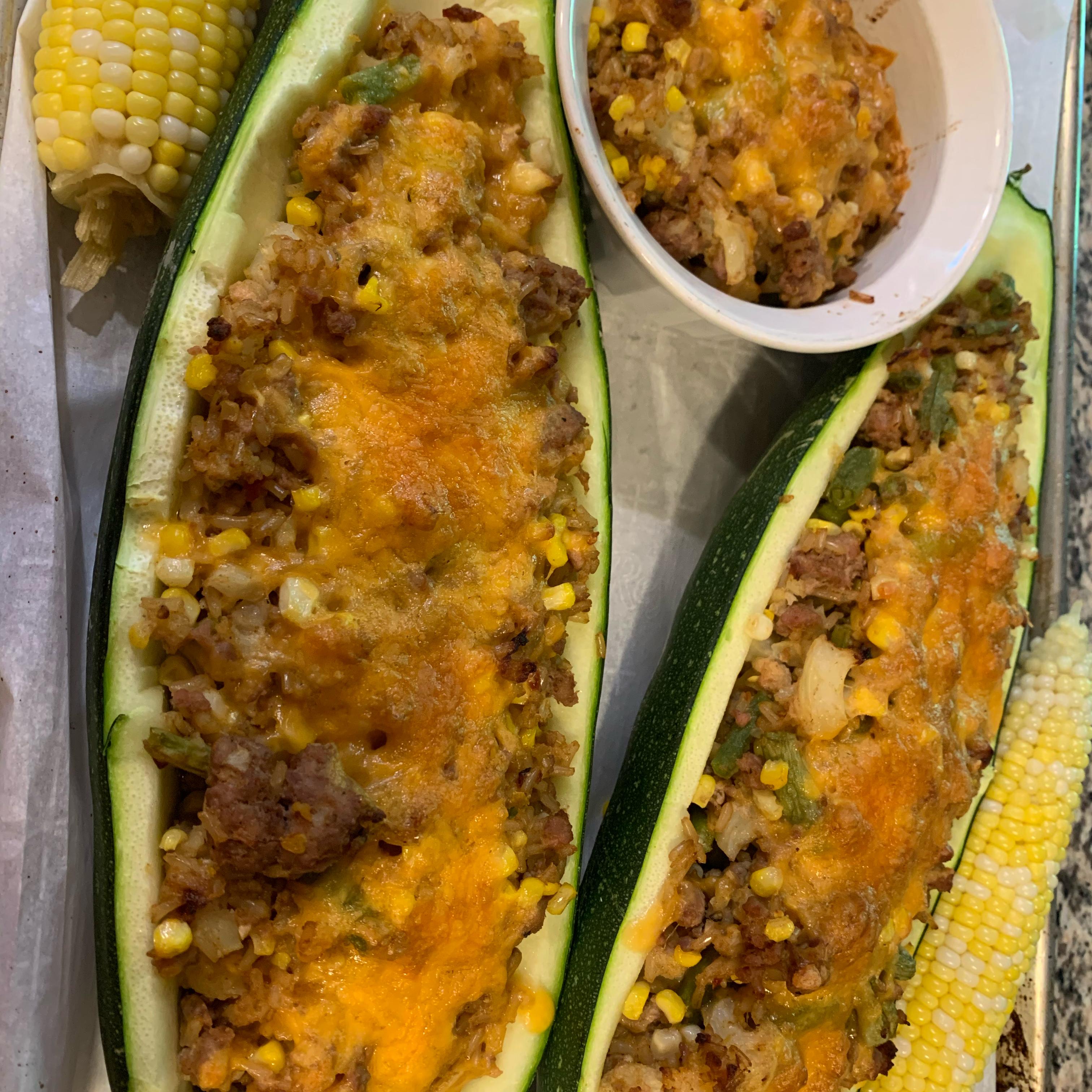 Stuffed Zucchini from Knorr® Nicole Monica Schaaf
