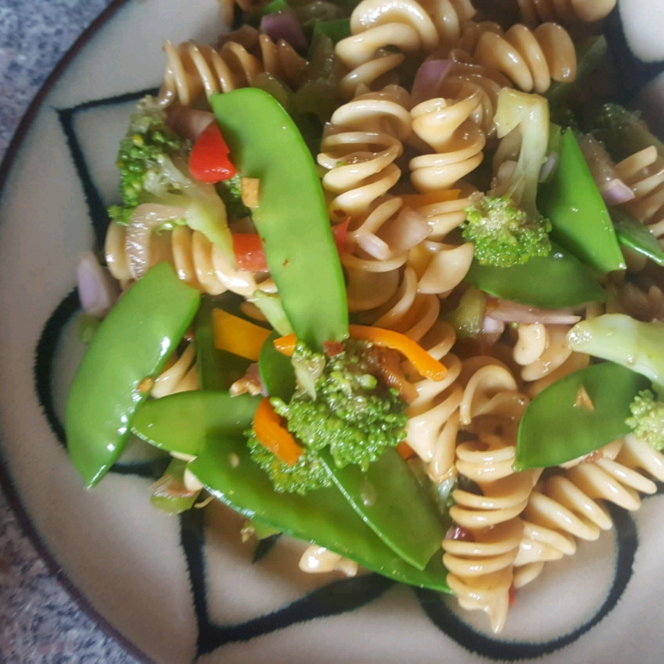 Asian Pasta Salad Colleen Seal