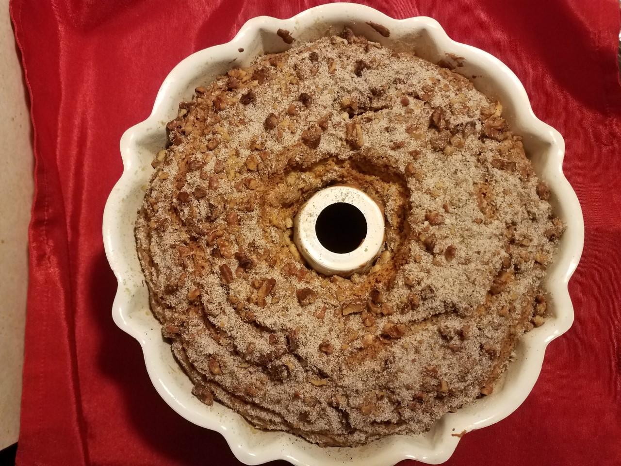 Streusel Coffee Cake Liz Dalton 'Lizzie'