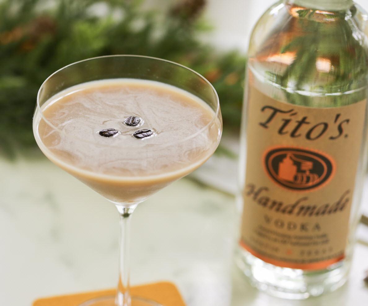Tito's Espresso Martini Tito's Handmade Vodka