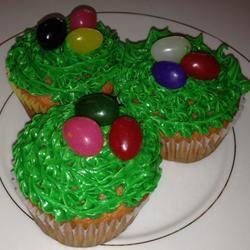 Carlee's Celebrate Spring Cupcakes Tricia