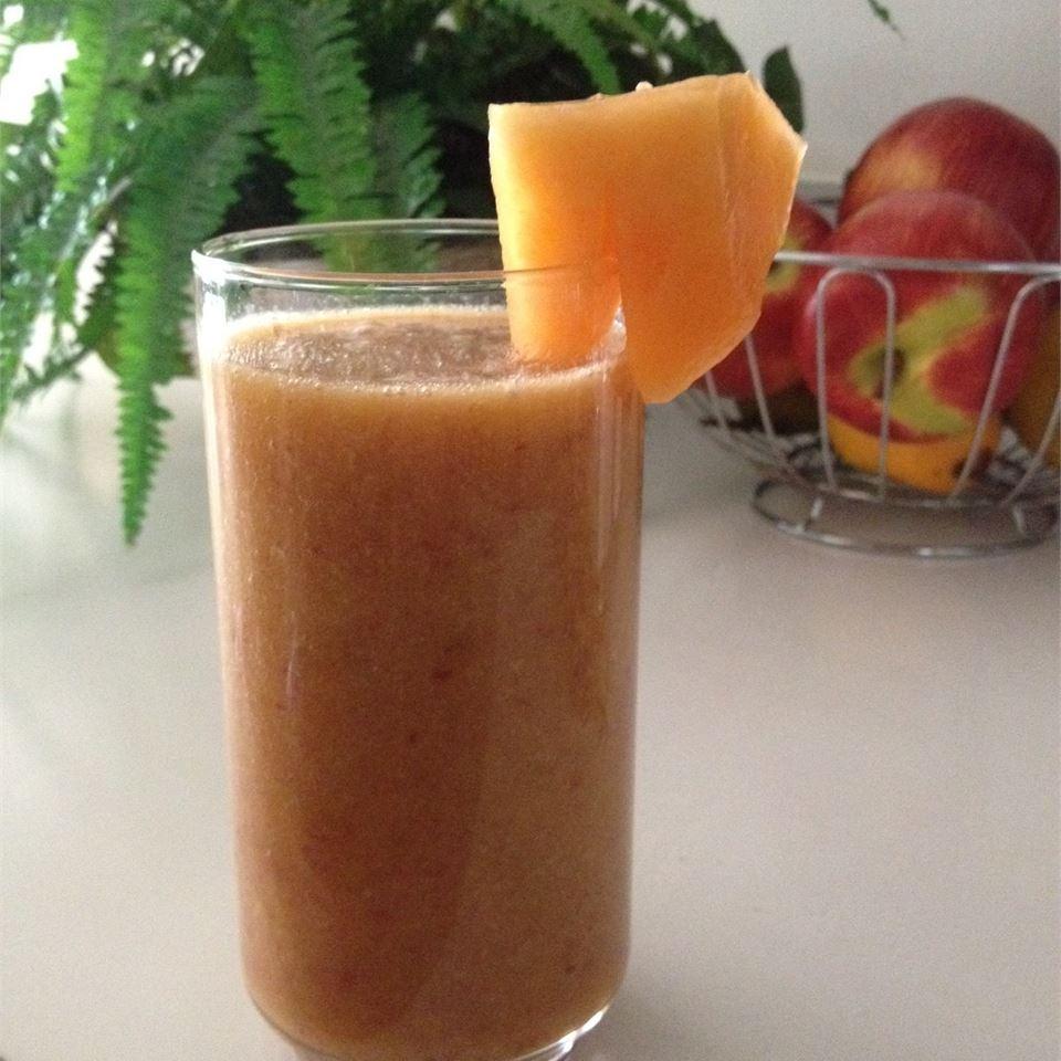 Mango-Peach Smoothie Tricia