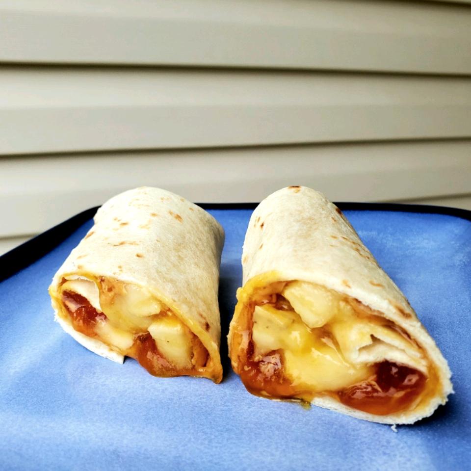 Merrick's PBJ n' Banana Burritos Tammy Lynn