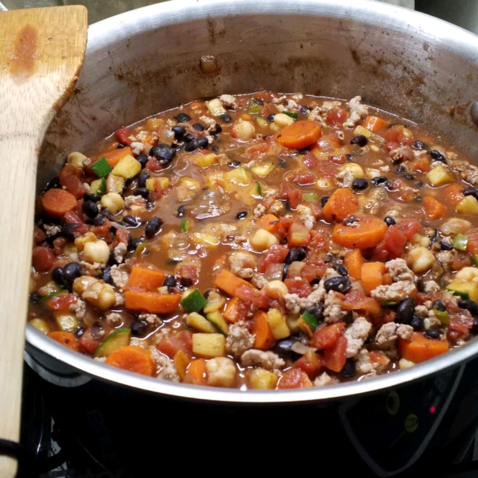 Black Bean and Chickpea Chili