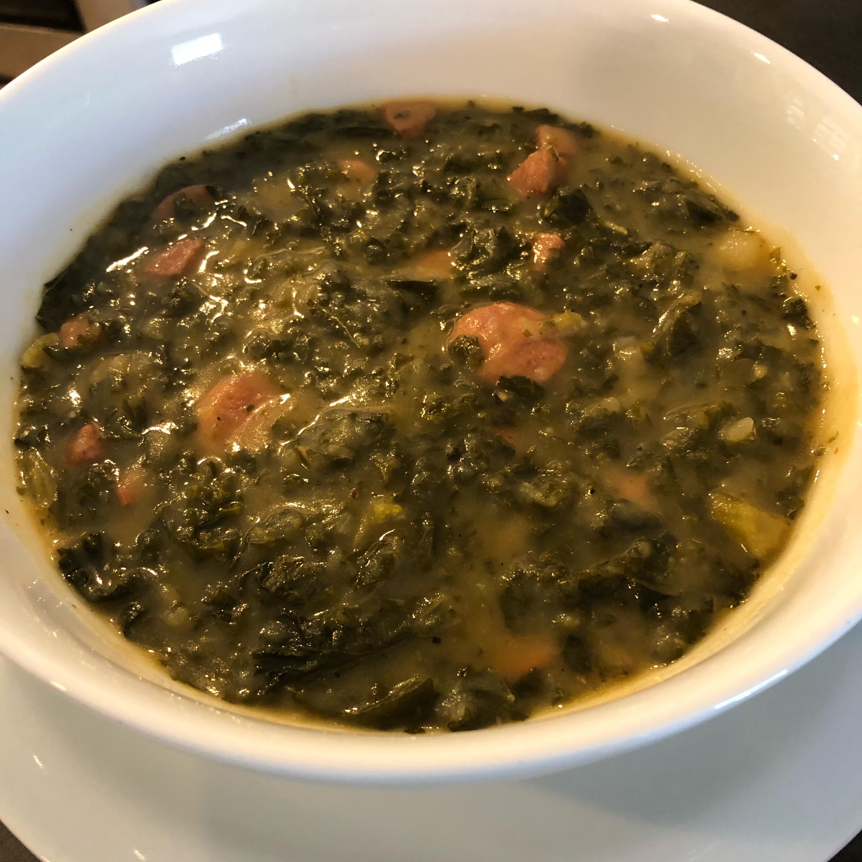 Caldo Verde (Portuguese Sausage Kale Soup) Eric Ochieng