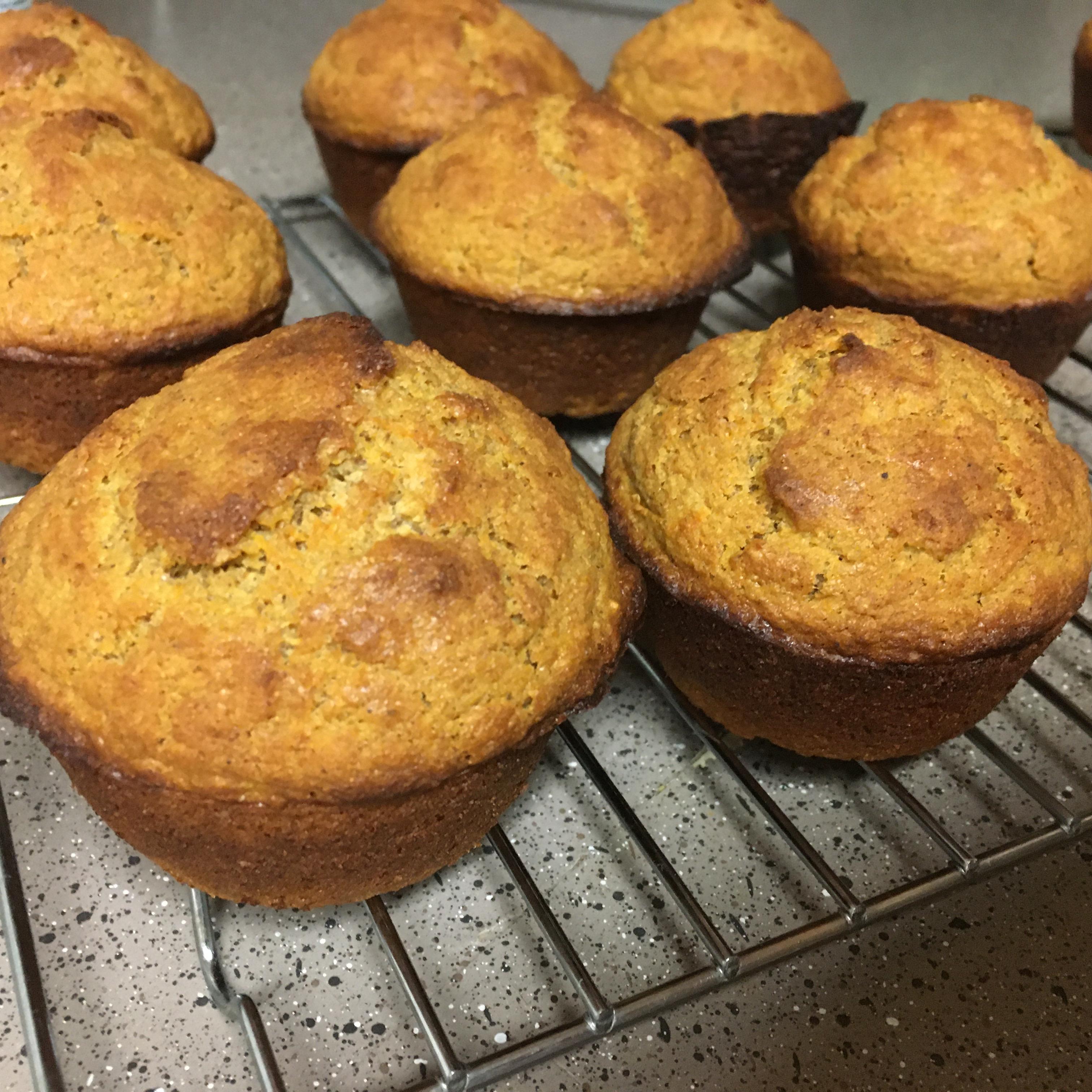 Carrot Muffins Melissa Christiansen McClure