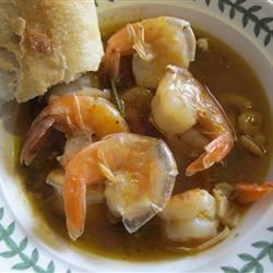 Killer Shrimp Soup
