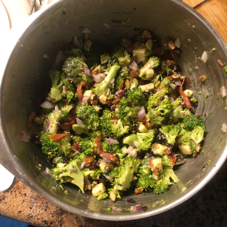 Creamy Broccoli Salad Sue Boeding