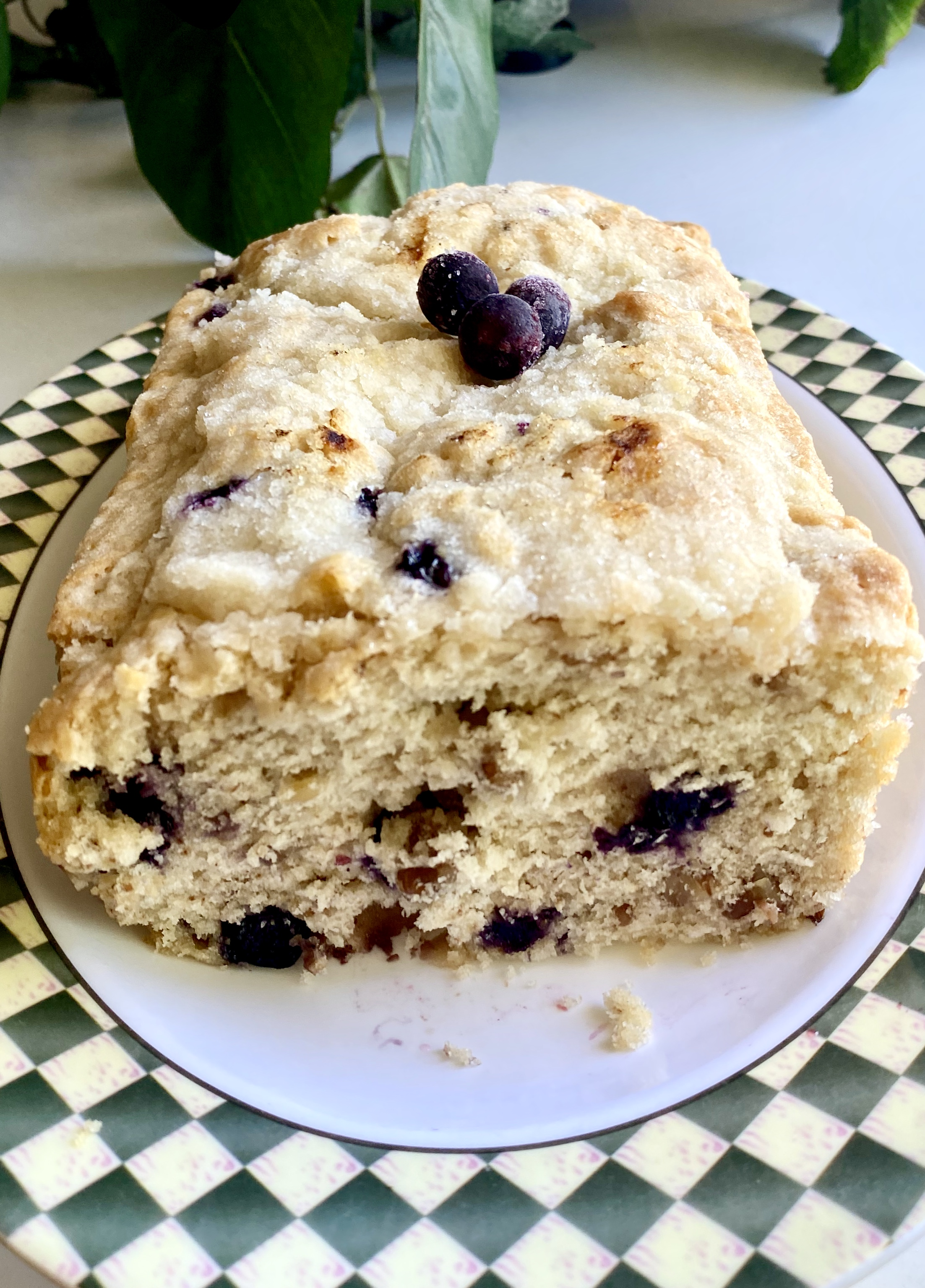 Blueberry Bread with Buttermilk