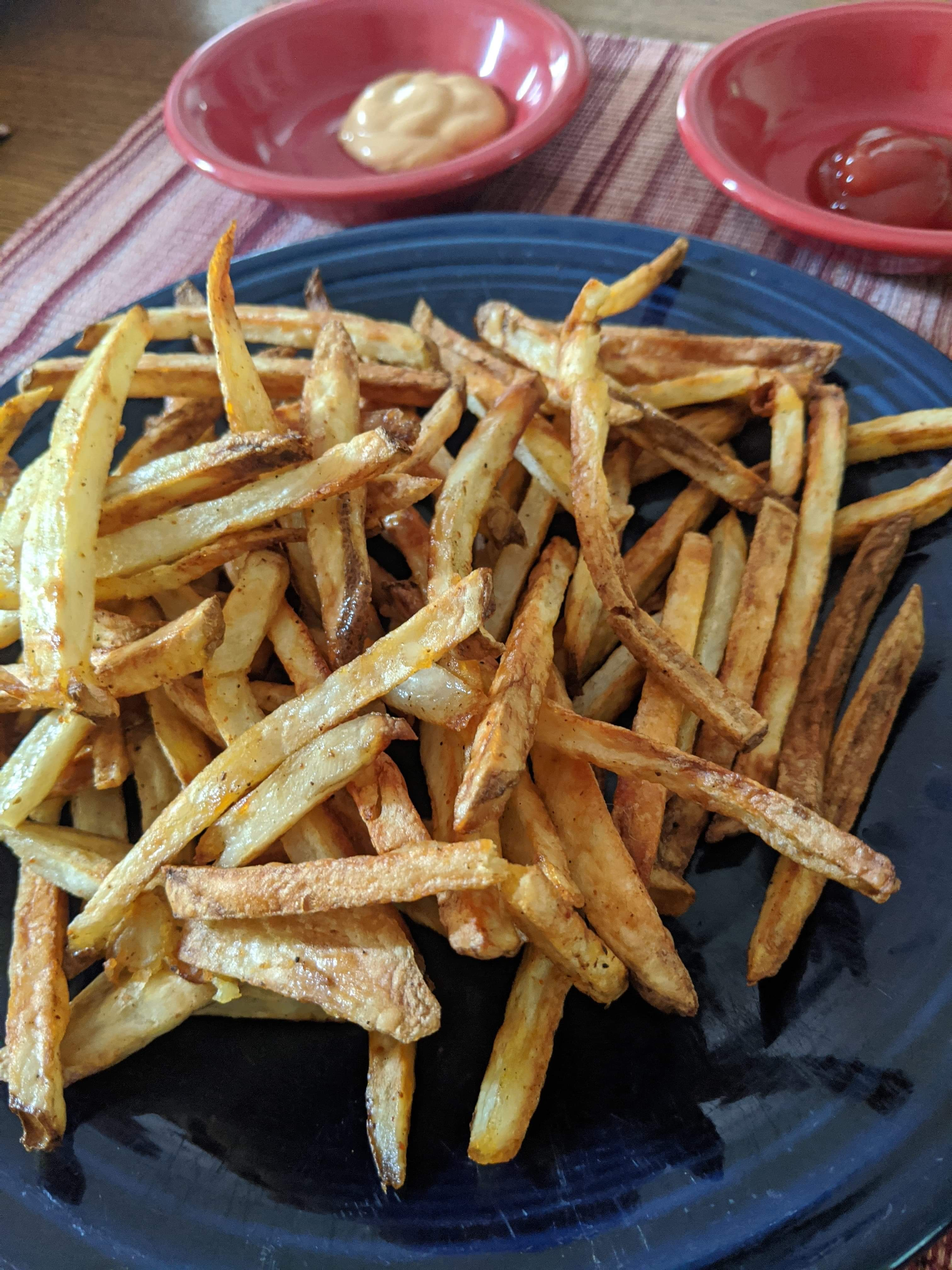 Air Fryer French Fries Jason Dobbs