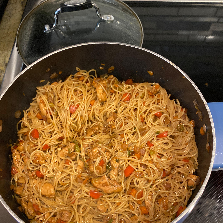 Thai Chicken Spaghetti Brandy Roddy