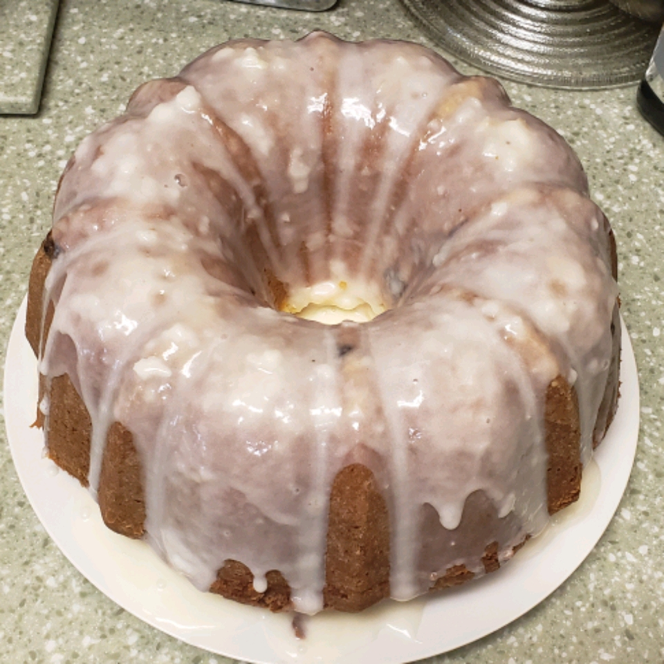 Blueberry-Lemon Pound Cake Lana