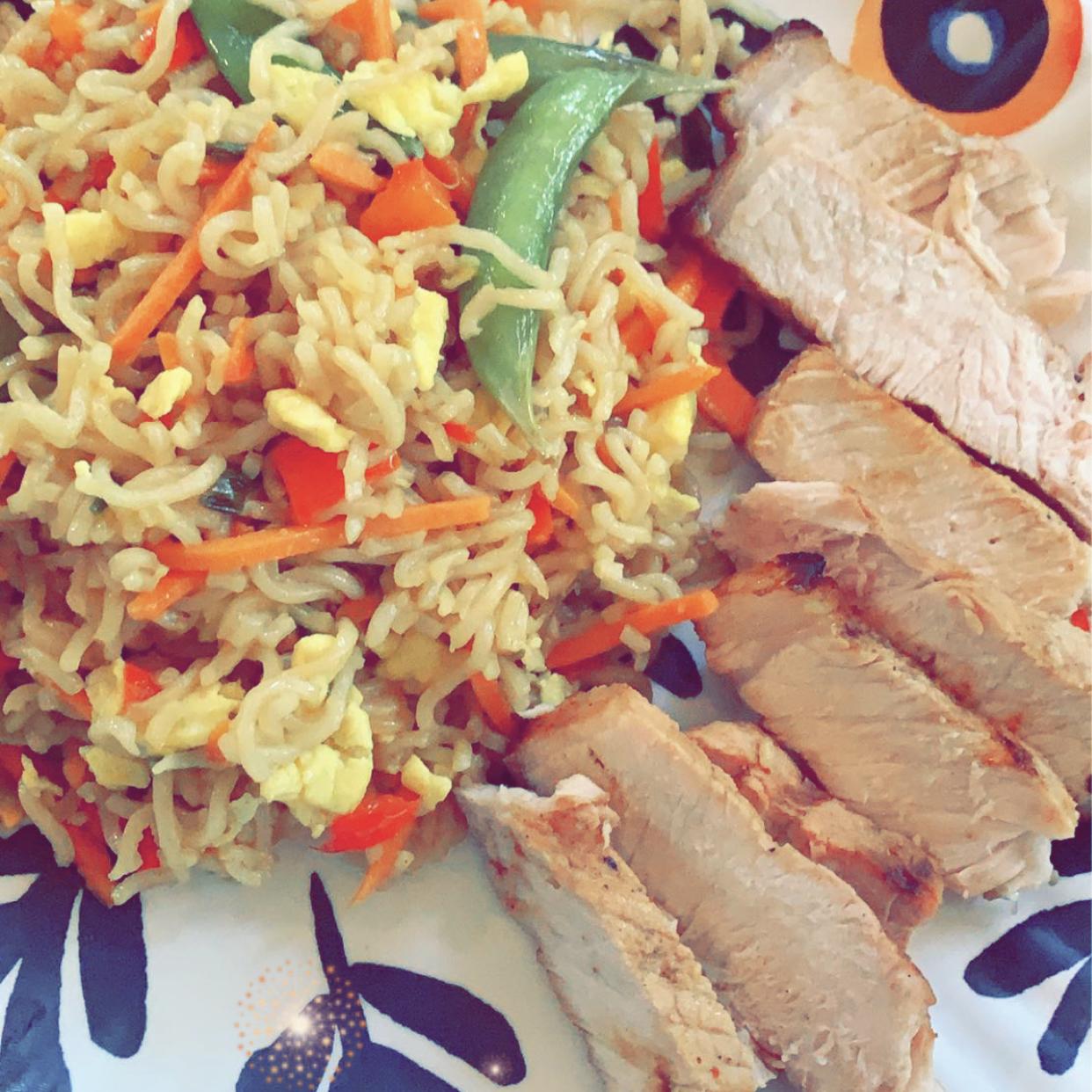 Grilled Pork Loin Chops