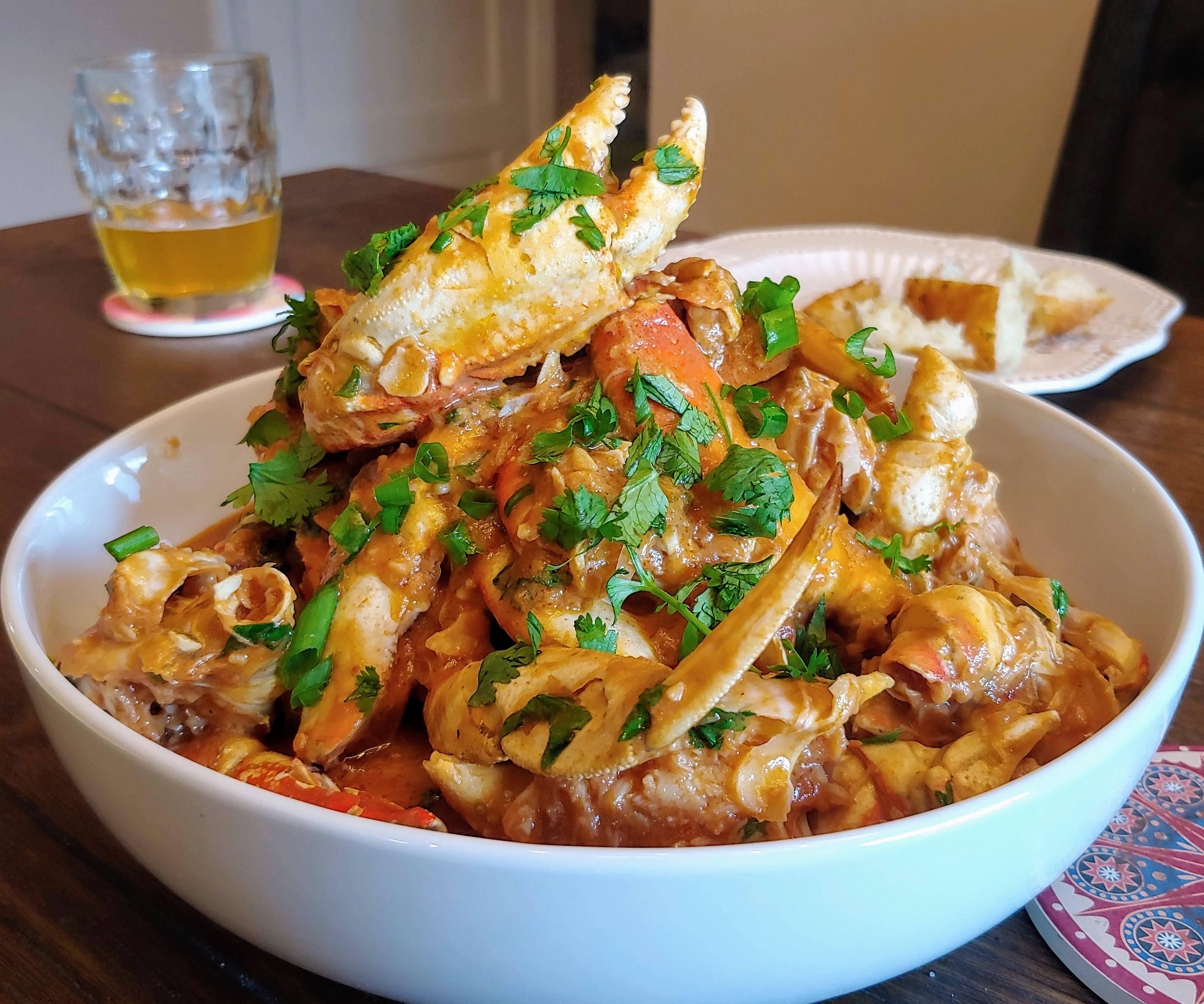 Singapore Chili Crabs Dolly Slugger