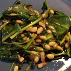 Spinach and Pine Nuts Daniel den Hoed