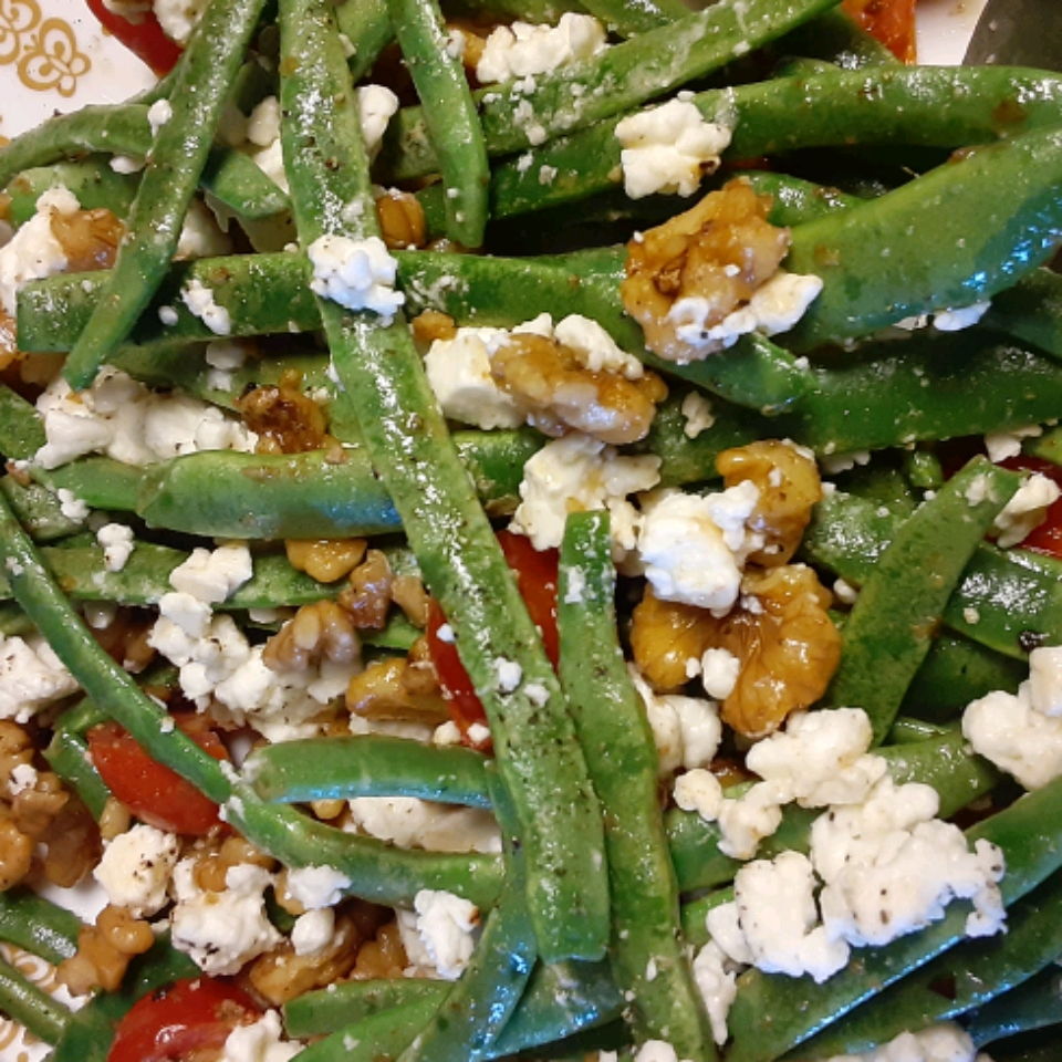 Green Beans with Feta and Walnuts Kris