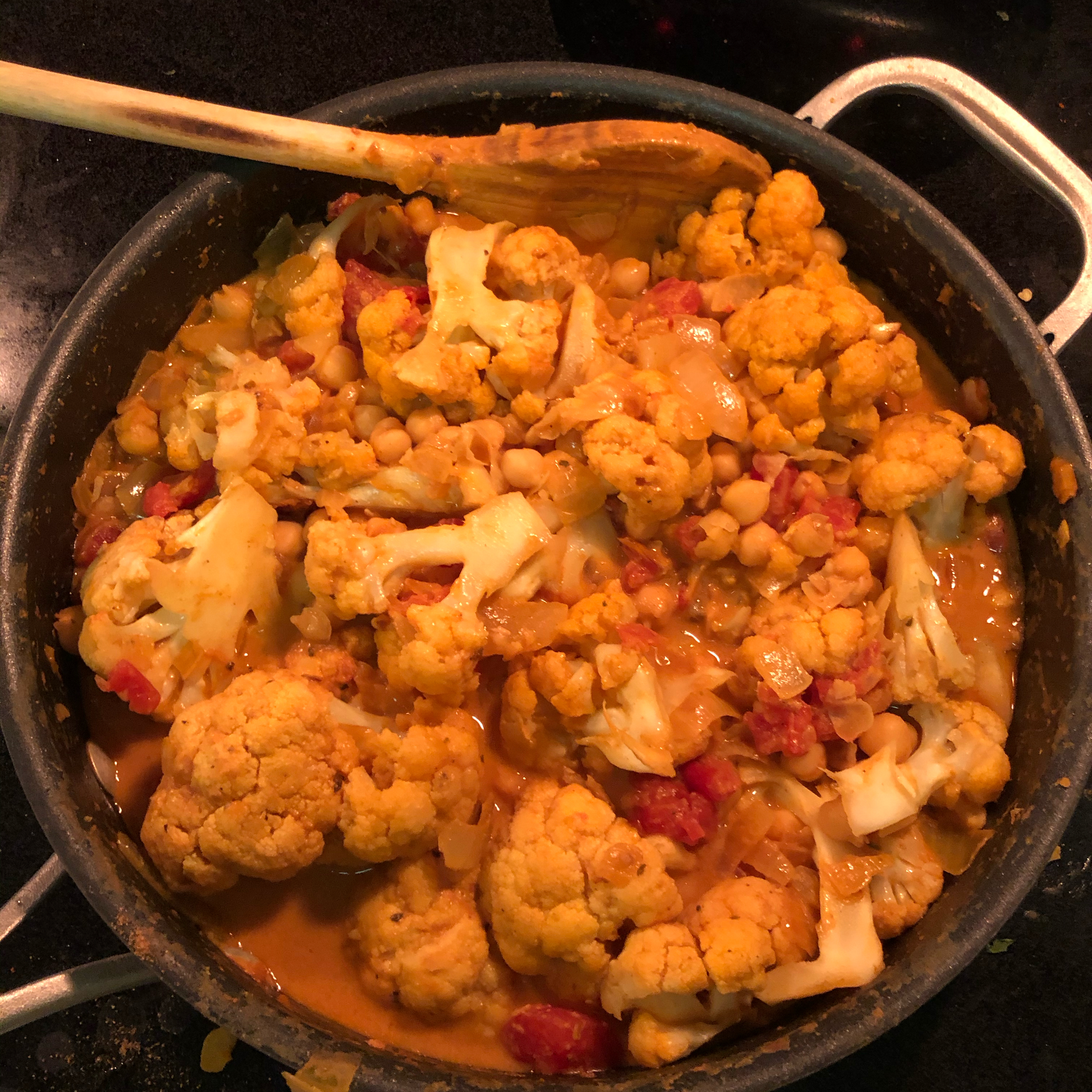 Butter Chickpea Curry Jamie Barmach