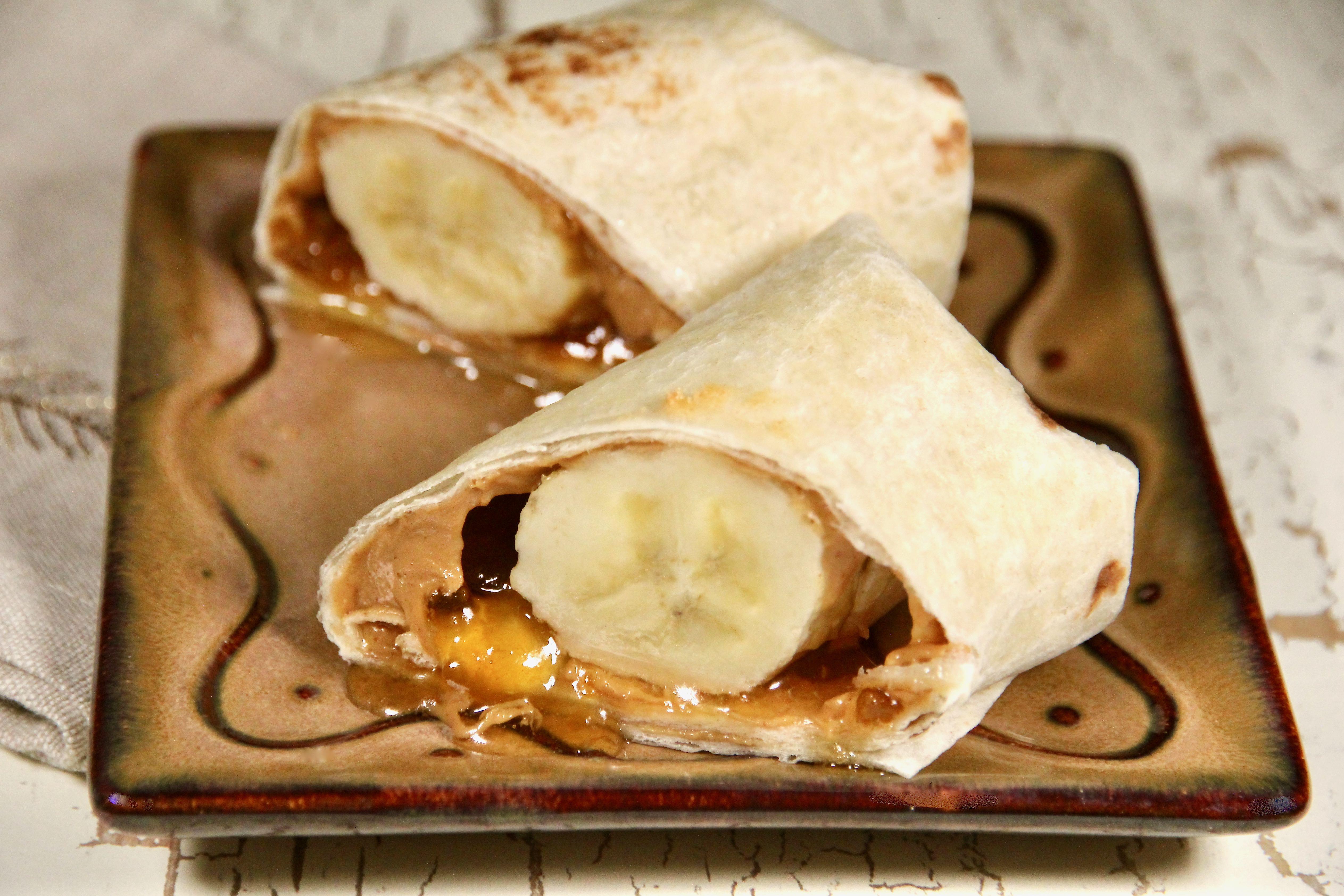 Merrick's PBJ n' Banana Burritos