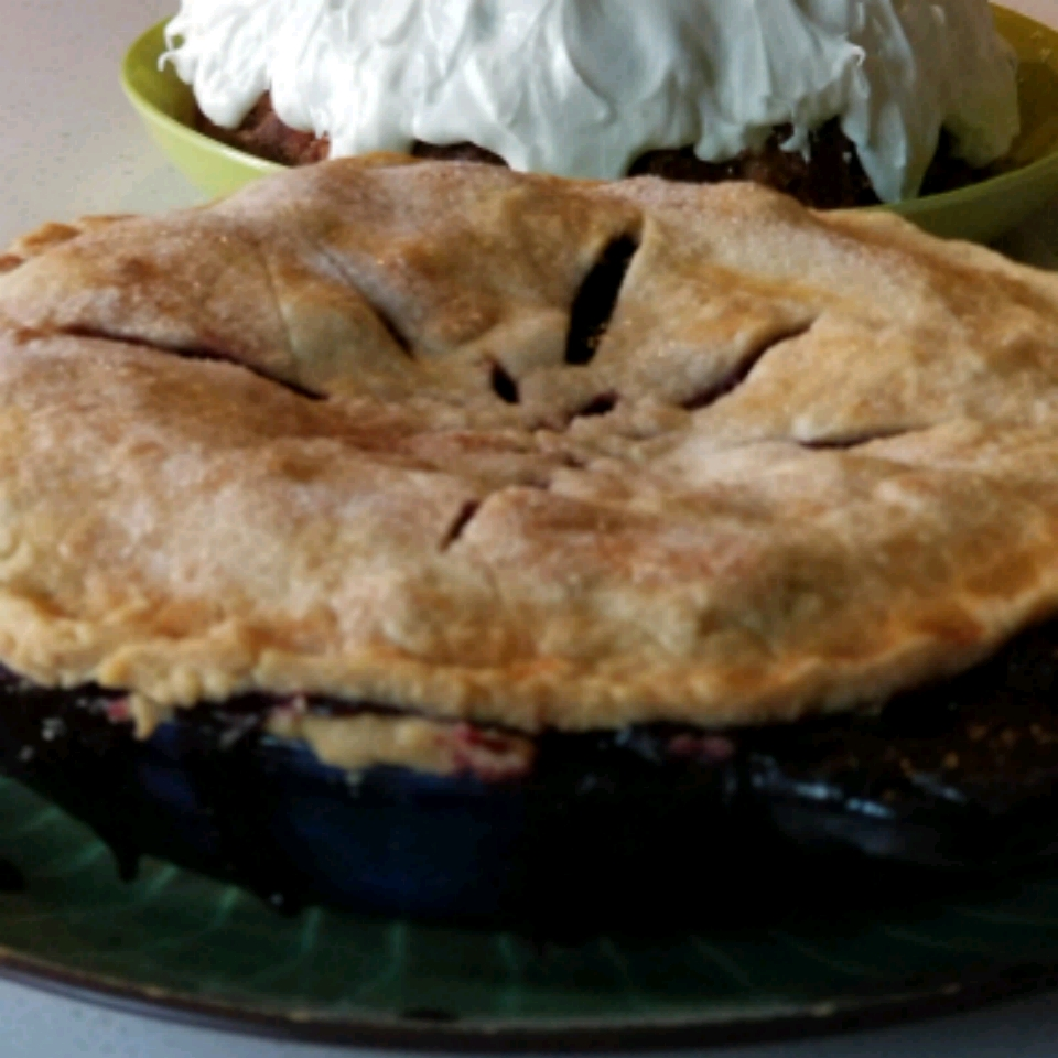 Northwest Marionberry Pie