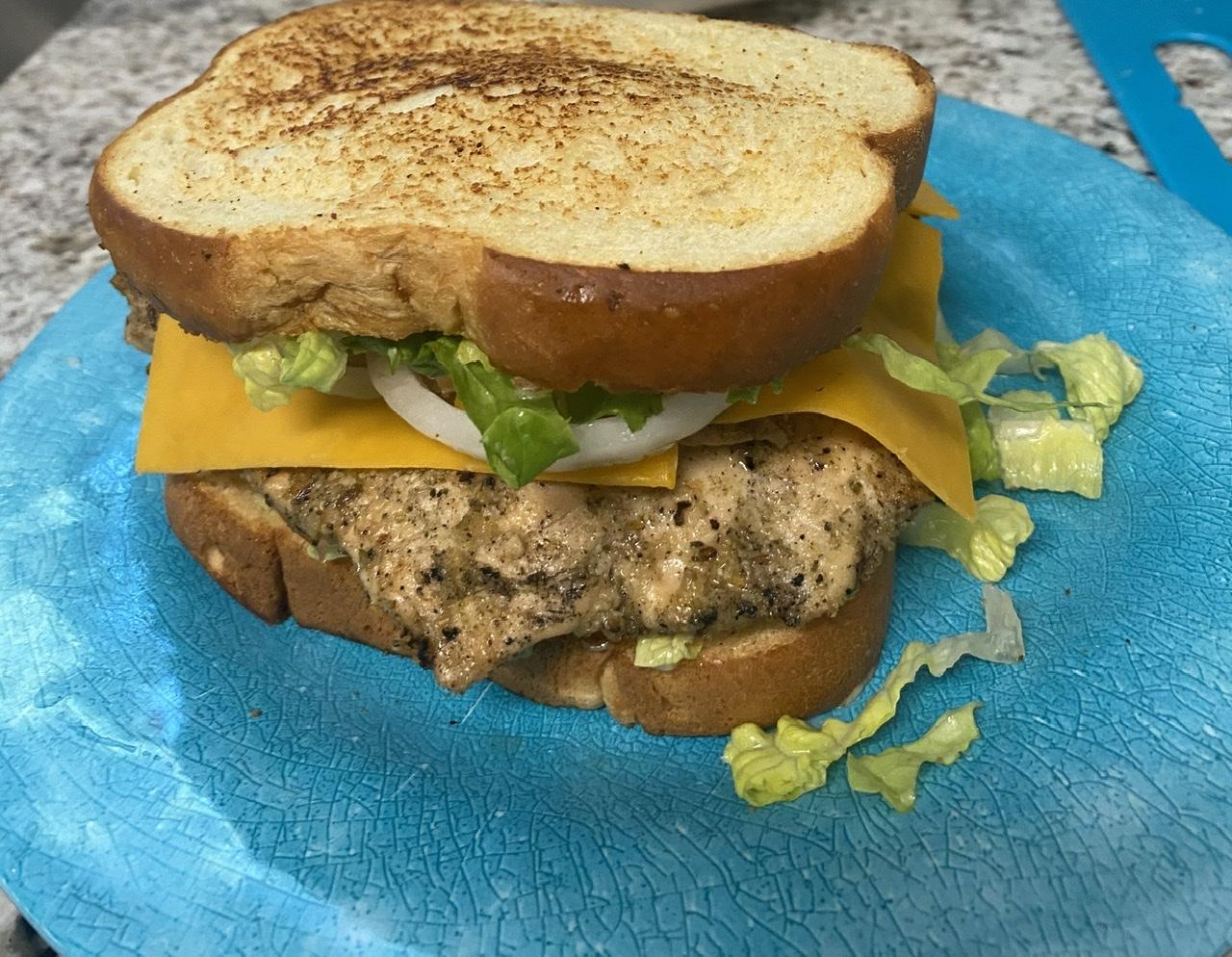 Cafe Style Grilled Chicken Sandwiches Niki