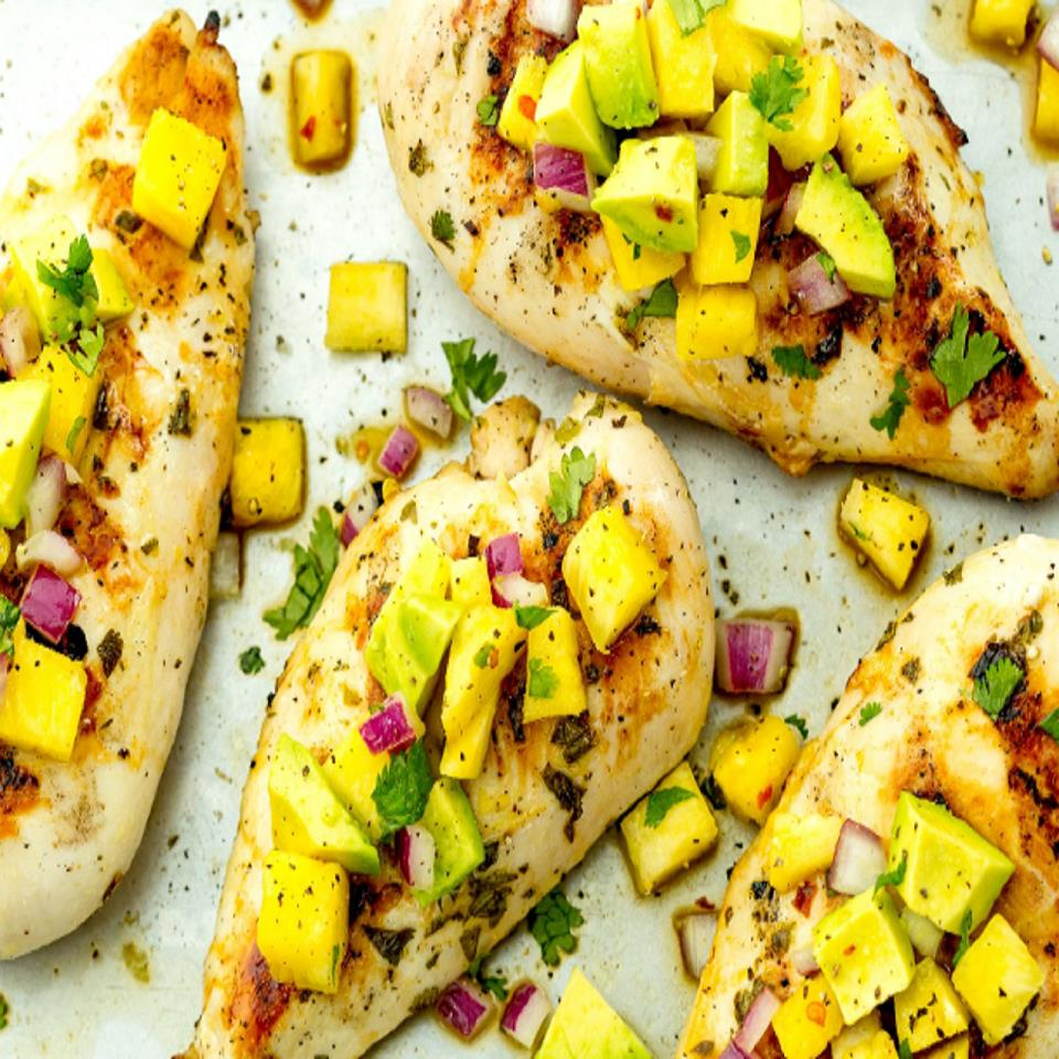 Pineapple Salsa Chicken Paul Gibson
